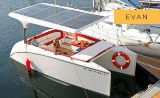 Solliner Evan - catamarán solar de las Islas Cíes